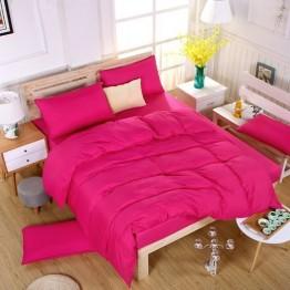Спално бельо с Пролетна олекотена завивка, Цикламено
