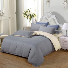 Спално бельо, Памук сиво ванилия