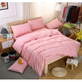 Спално бельо с Пролетна олекотена завивка, Розово