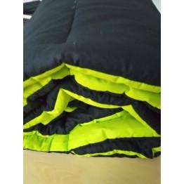 Олекотена завивка, Черно/Неоново зелено