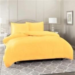 Спално бельо от Ранфорс, Жълто