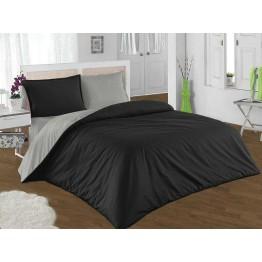 Спално бельо, Памук, Black and Gray
