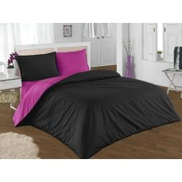 Спално бельо, Памук, Black and Violet