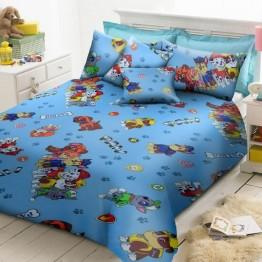Детско спално бельо, пес патрул синьо