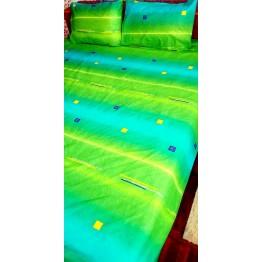 Спално бельо, Памук, Blue to Green