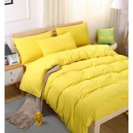 Спално бельо с Пролетна олекотена завивка, Жълто