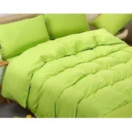 Спално бельо с Пролетна олекотена завивка, Зелено