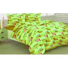 Спално бельо, Полиестер, Green Tetris