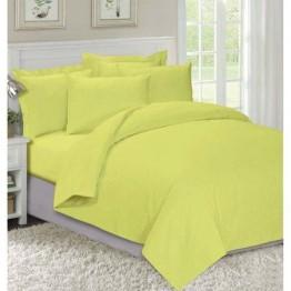 Спално бельо, Памук, Yellow