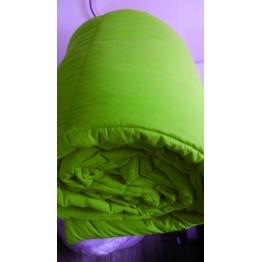 Зимна олекотена завивка, Зелено