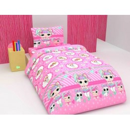 Детско спално бельо, Honey pink
