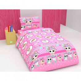 Зимно детско спално бельо с олекотена завивка, Лол