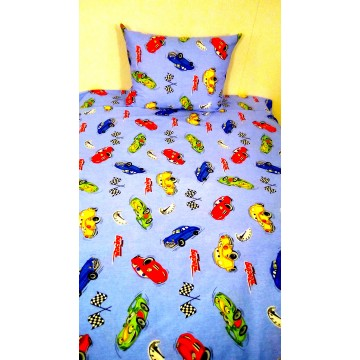 Детско спално бельо коли 4