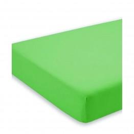 Спално бельо, Чаршаф с ластик от трико, Зелено