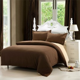 Спално бельо, Ранфорс, Brown and Beige