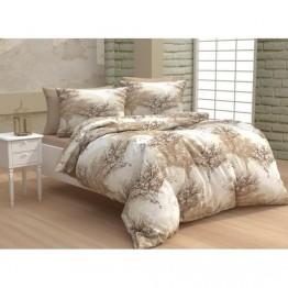 Спално бельо от памук, Бежово