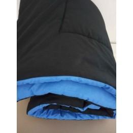 Пролетна олекотена завивка, Черно/Синьо
