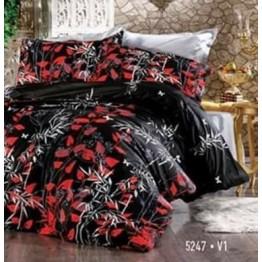 Спално бельо, Ранфорс, Black Vine