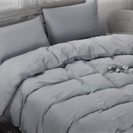 Спално бельо с Пролетна олекотена завивка, Сиво