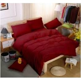 Спално бельо със Зимна олекотена завивка, Бордо